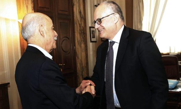 Gualtieri riceve Rifkin: il Green New Deal al centro del colloquio