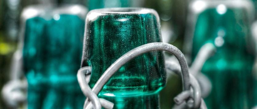 La piattaforma per il vetro riciclato